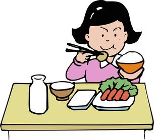 給食のイラスト素材 [FYI04199169]