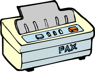 ファックスのイラスト素材 [FYI04199455]