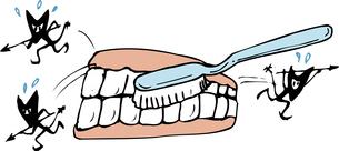 歯磨きのイラスト素材 [FYI04199745]