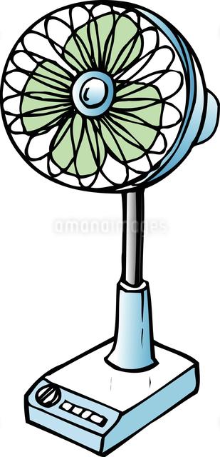 扇風機のイラスト素材 [FYI04200228]