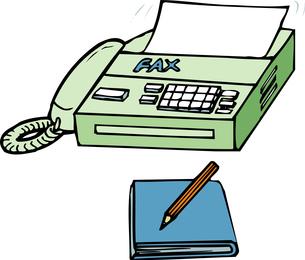 ファックスのイラスト素材 [FYI04200247]