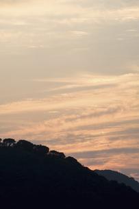 石見銀山の空の写真素材 [FYI04201359]