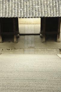 御袖天満宮の石段の写真素材 [FYI04201387]