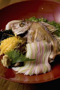 焼鯛と五式そうめんの写真素材 [FYI04201432]