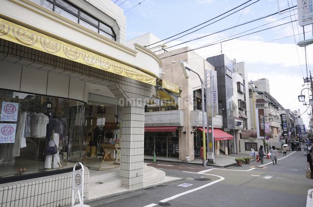 ショッピング街の写真素材 [FYI04202395]