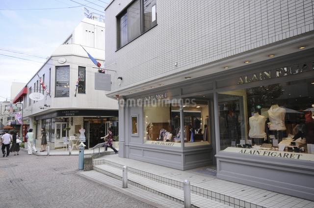 ショッピング街の写真素材 [FYI04202398]