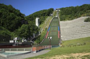 大倉山ジャンプ競技場の写真素材 [FYI04203118]