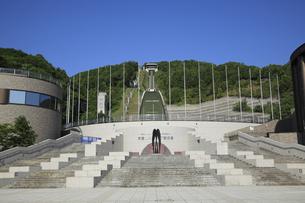 大倉山ジャンプ競技場の写真素材 [FYI04203119]