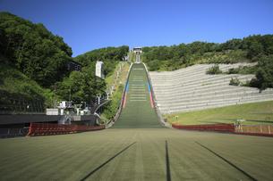 大倉山ジャンプ競技場の写真素材 [FYI04203120]
