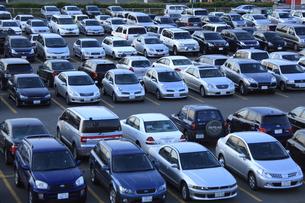 駐車場の写真素材 [FYI04203265]