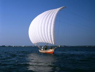 帆引き船の写真素材 [FYI04203335]