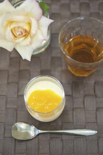 オレンジチーズケーキの写真素材 [FYI04204033]