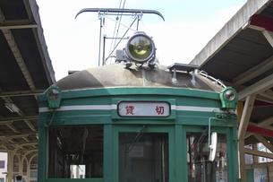 貸し切りの路面電車の写真素材 [FYI04206340]