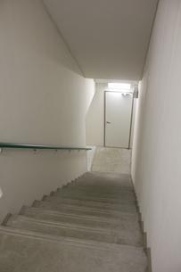 マンションの非常階段の写真素材 [FYI04207157]