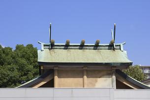 神社の屋根の写真素材 [FYI04207262]