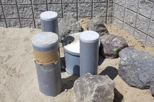 一戸建て住宅の水回り工事の写真素材 [FYI04207402]