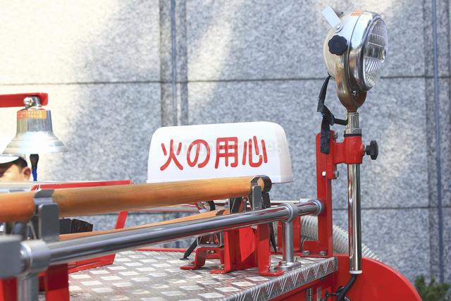 消防自動車の写真素材 [FYI04207476]
