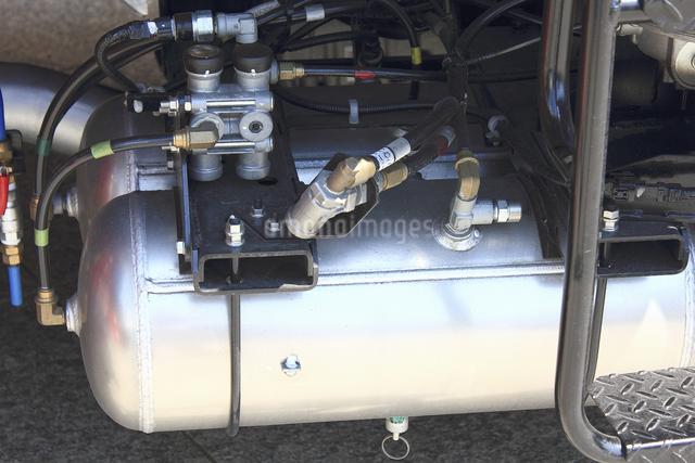 消防自動車の圧力タンクの写真素材 [FYI04207482]