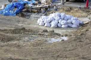 住宅地の造成工事現場の写真素材 [FYI04207512]