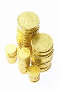 金貨の写真素材 [FYI04208549]