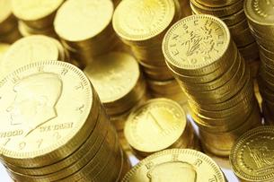 金貨の写真素材 [FYI04208567]