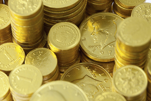 金貨の写真素材 [FYI04208572]