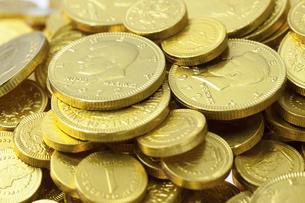 金貨の写真素材 [FYI04208578]