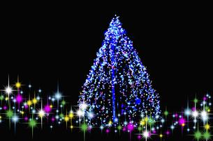 クリスマスツリーの写真素材 [FYI04208987]