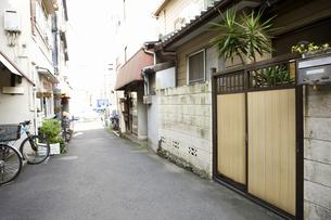 東京 千駄木の町並みの写真素材 [FYI04209525]