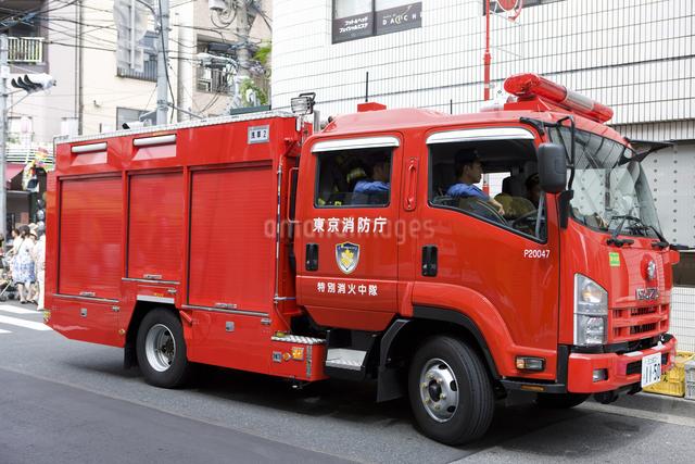 消防自動車の写真素材 [FYI04209575]