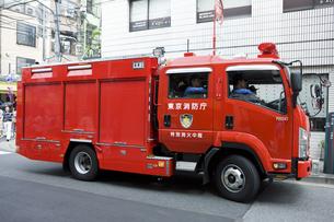 消防自動車の写真素材 [FYI04209576]
