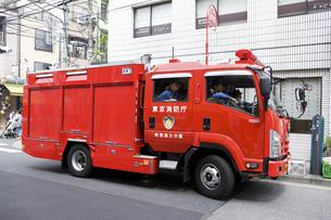 消防自動車の写真素材 [FYI04209577]