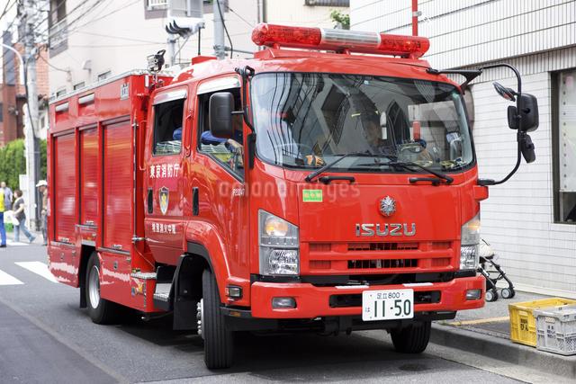 消防自動車の写真素材 [FYI04209578]