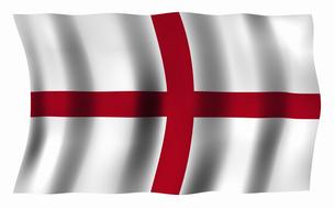 イングランドの旗の写真素材 [FYI04211191]