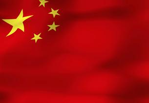 中国の国旗の写真素材 [FYI04211216]