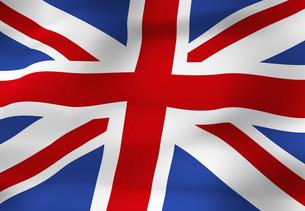 イギリスの国旗の写真素材 [FYI04211270]