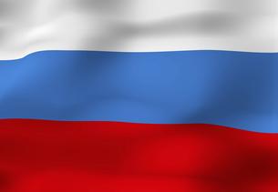 ロシアの国旗の写真素材 [FYI04211372]