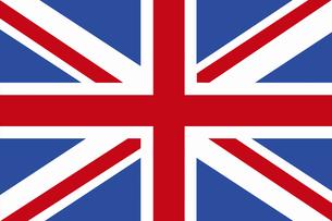 イギリスの国旗の写真素材 [FYI04211465]