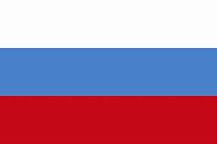 ロシアの国旗の写真素材 [FYI04211570]