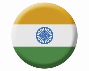 インドの国旗の写真素材 [FYI04211606]
