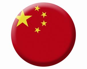 中国の国旗の写真素材 [FYI04211615]