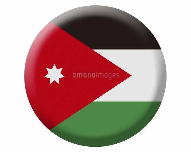 ヨルダンの国旗の写真素材 [FYI04211637]