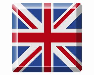 イギリスの国旗の写真素材 [FYI04211873]