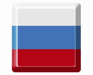 ロシアの国旗の写真素材 [FYI04211978]