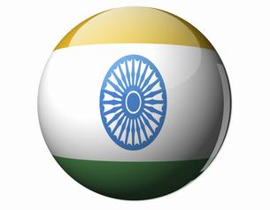 インドの国旗の写真素材 [FYI04212008]
