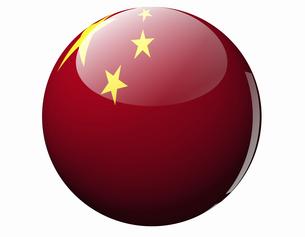 中国の国旗の写真素材 [FYI04212020]