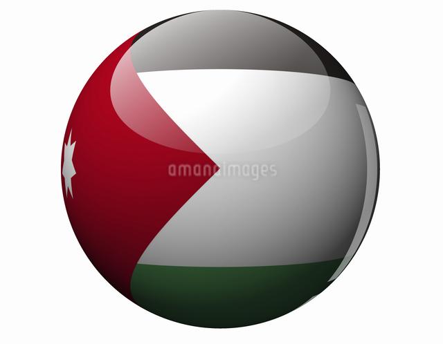 ヨルダンの国旗の写真素材 [FYI04212041]