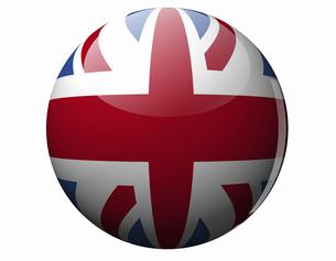 イギリスの国旗の写真素材 [FYI04212074]