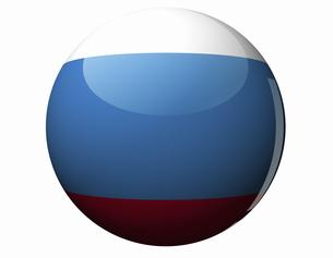 ロシアの国旗の写真素材 [FYI04212176]