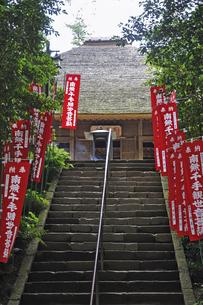 青梅散歩・塩船観音寺 本堂の写真素材 [FYI04214714]